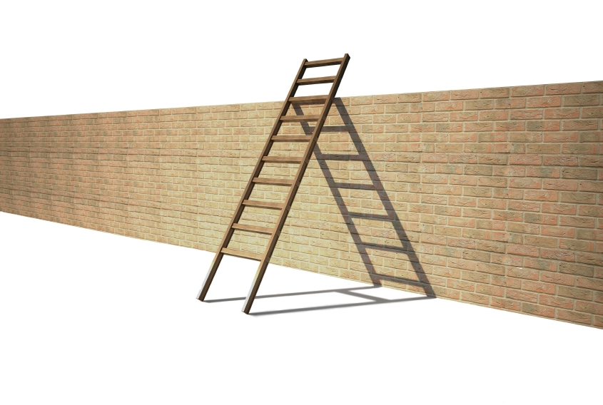 ladder on wall - photo #12